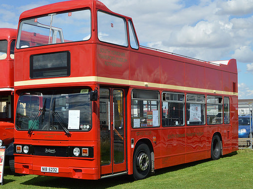 Open Top Red Routemaster